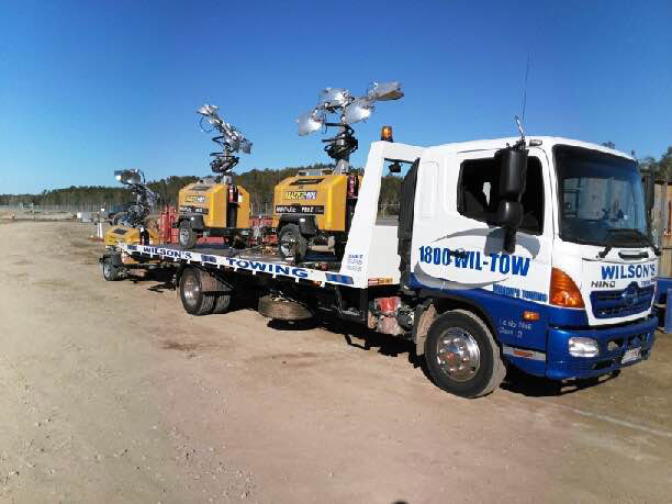 Machinery Towing Services Sunshine Coast